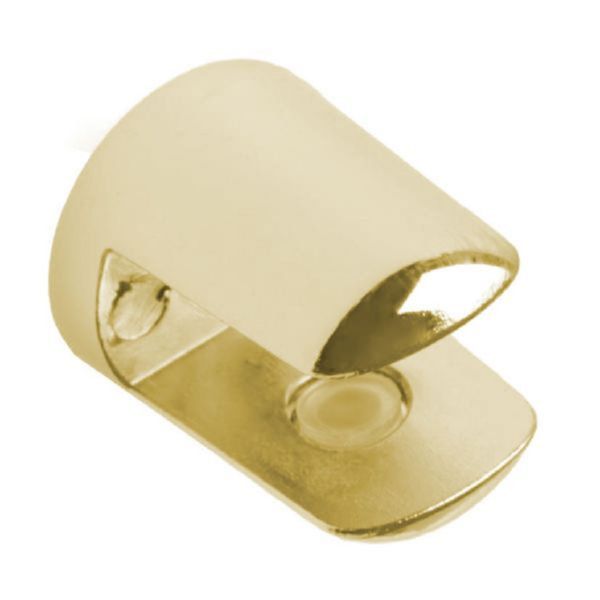 SOPORTE ESTANTE CRIS. 3-6 MM.DORADO